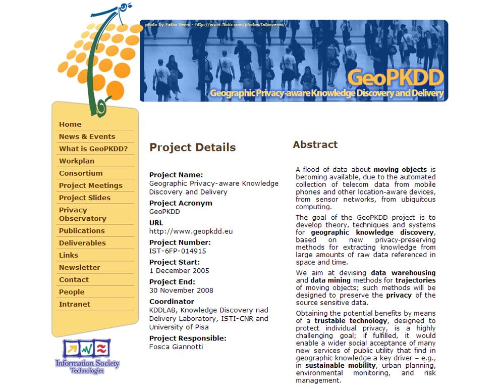 GeoPKDD Screenshot