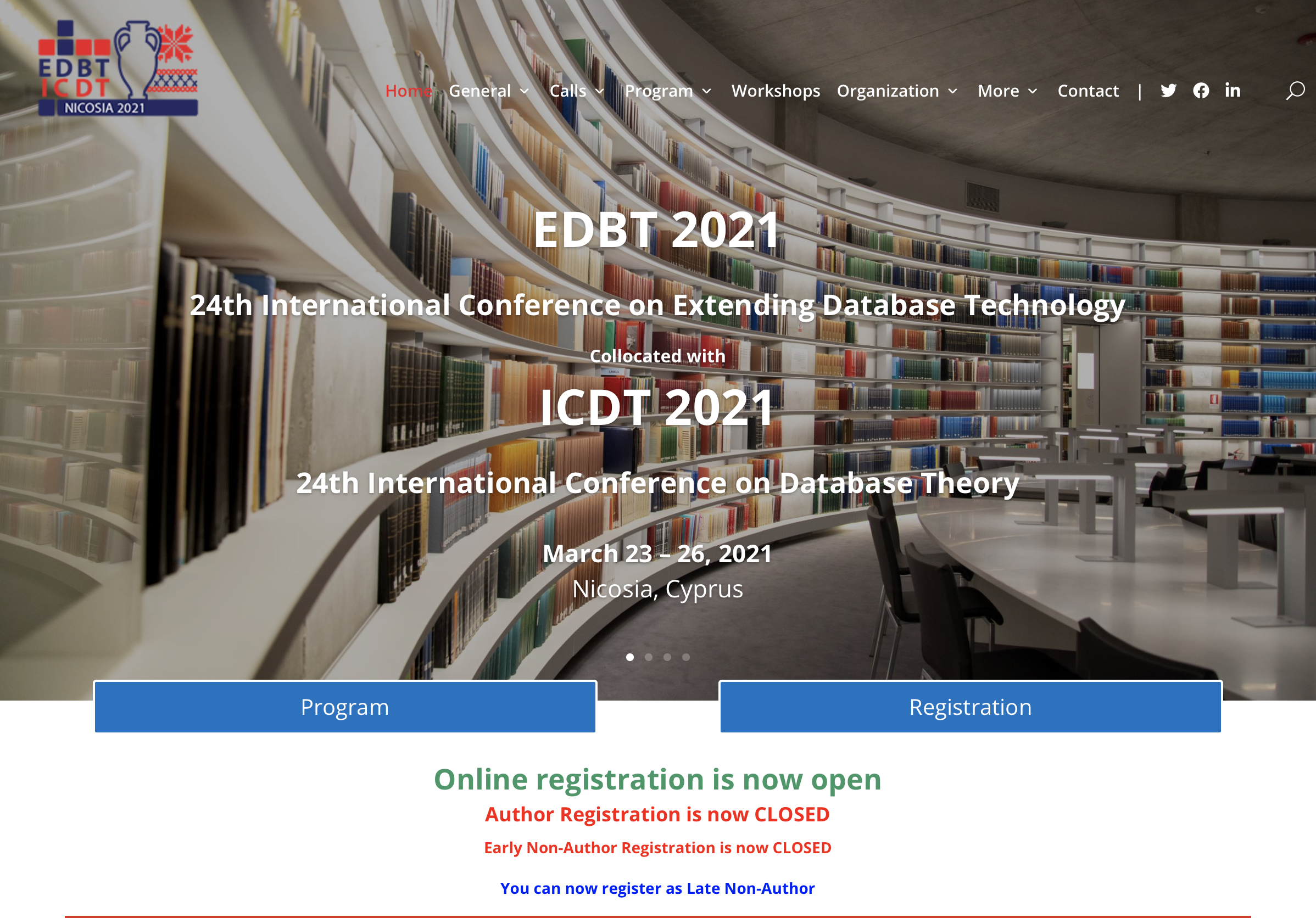 EDBT'21 Conference – the Data Science Lab is there!