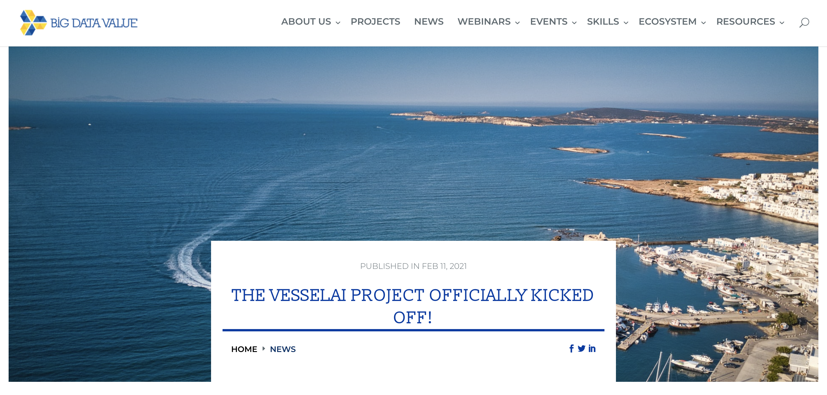 The VesselAI project officially kicked off!